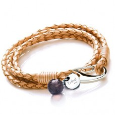 Ladies Tan Wrap Around Bracelet