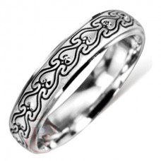 4 mm Pattern LE43 Wedding Ring