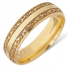 4 mm Celtic LE47 Wedding Ring