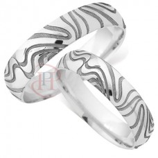 5 mm Pattern LE84 Wedding Ring
