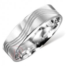 6 mm Pattern LE38 Wedding Ring