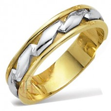5 mm Two Colour FT333 Wedding Ring